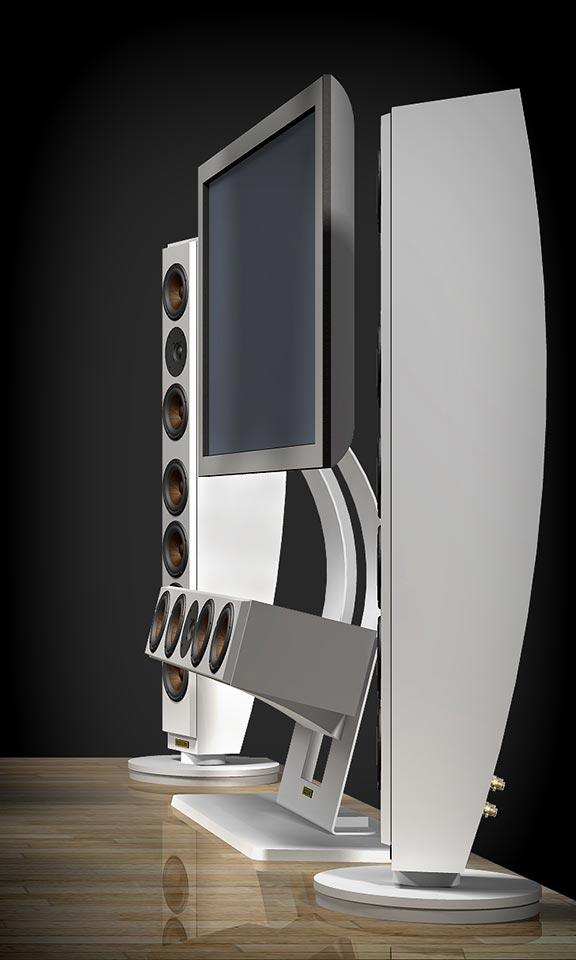 Reezoldini Cinema Series Reezoldini Cinema speaker systems