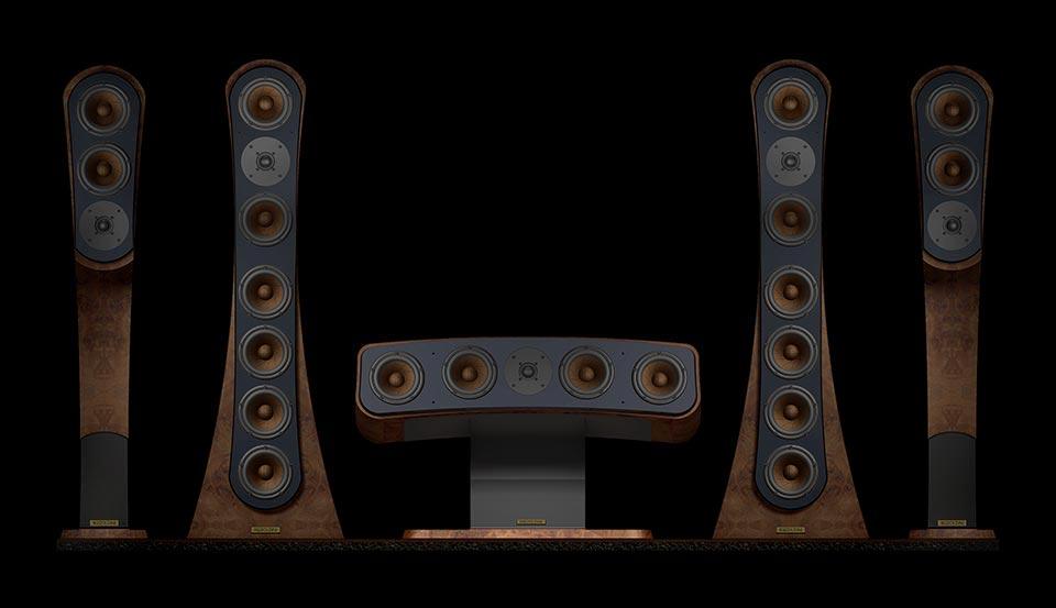 Reezoldini Master R speaker systems