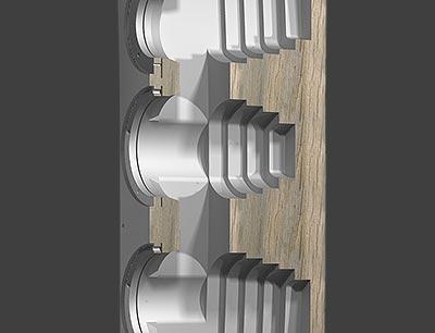 Reezoldini Master R7F speaker system