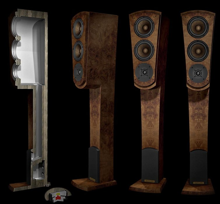 Master A3FS speaker systems